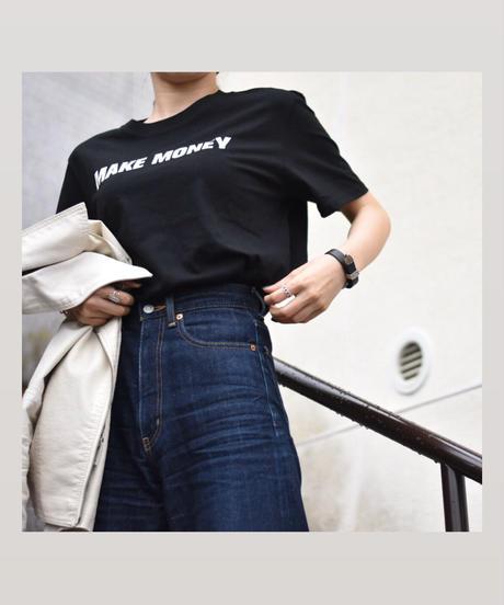 #30 $ T-shirt 【 black 】