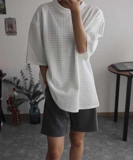 オーバーワッフルティー/ホワイト