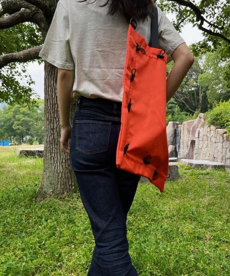 2way スクイーズバッグ/オレンジ