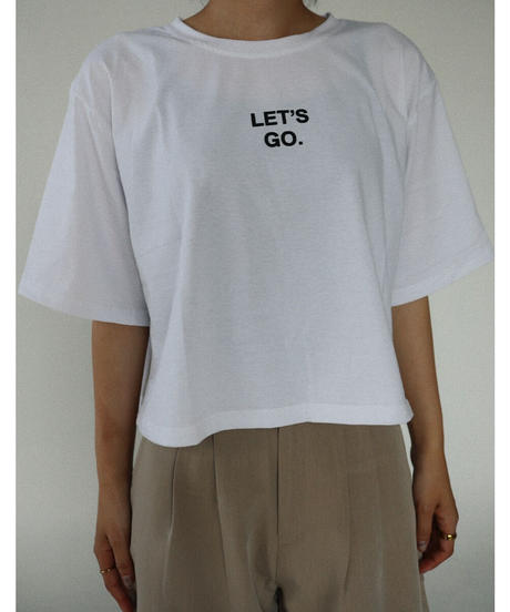 LET'S GO Tシャツ