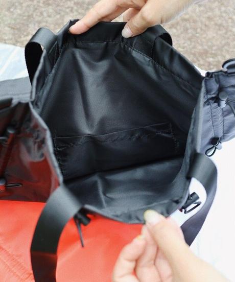 【 予約商品 】2way スクイーズバッグ/ブラック