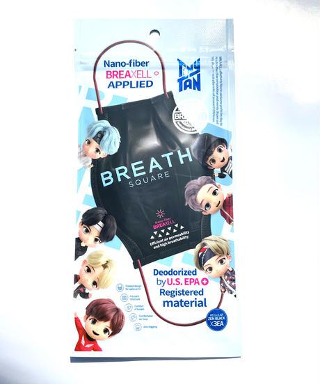 BREATH TinyTAN SQUARE Regular ブレスマスク 1袋(3枚入り)