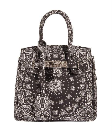 HERMETIC / paisley mini bag black