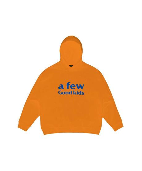 A FEW GOOD KIDS / basic rhinestone logo hoodie