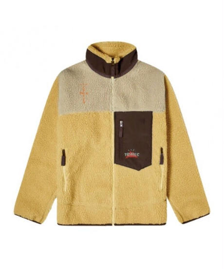 TRAVIS SCOTT / cactus trails full-zip sherpa jacket
