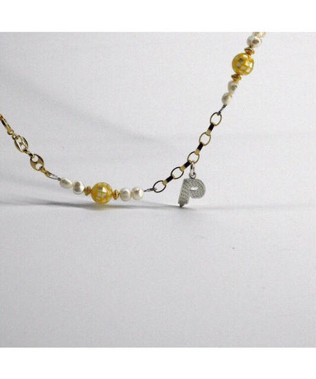 SPARKING / philly big ball chain gold