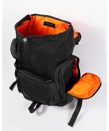 MLVINCE / tactical back pack black