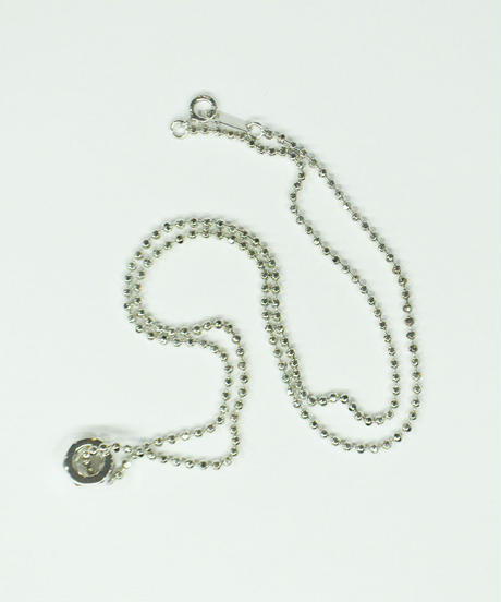 SPARKING / small nut necklace silver