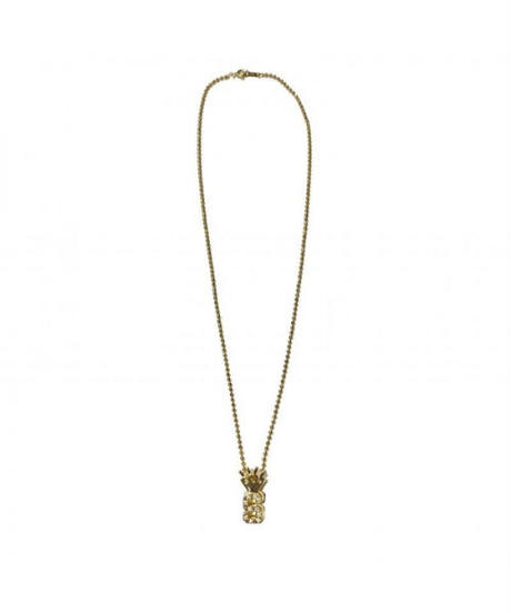 """SPARKING / """"S"""" crown chain necklace gold"""