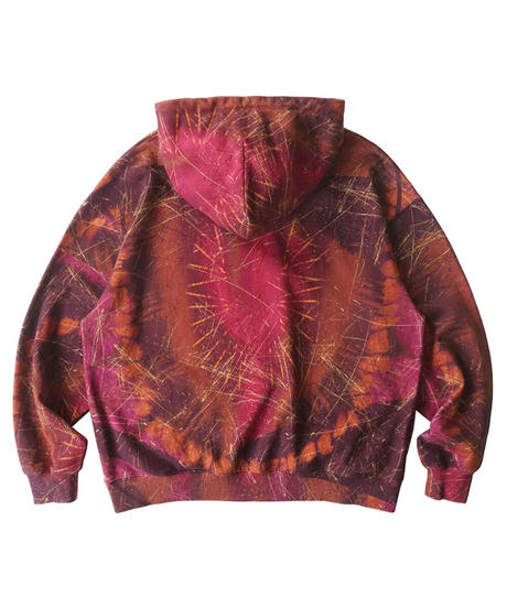 SALUTE / cactus printer hoodie
