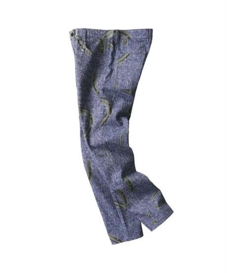 SALUTE / denim handcuffs jeans