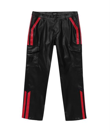 UNKNOWN / vegan leather cargo pants