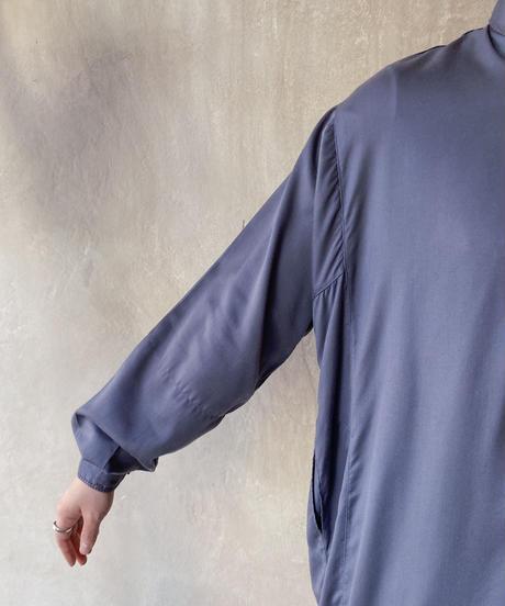 グレーカフタンシャツ