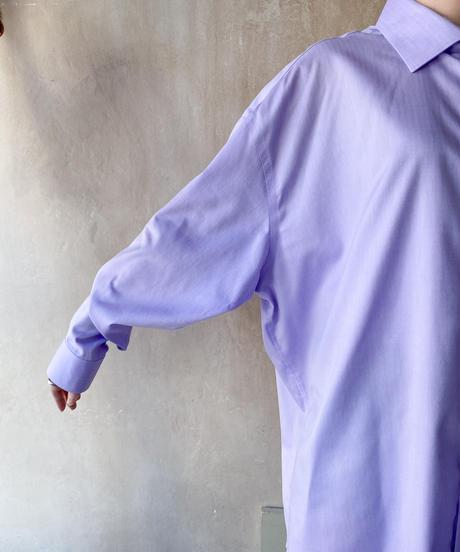 ペールパープルBIGシャツ