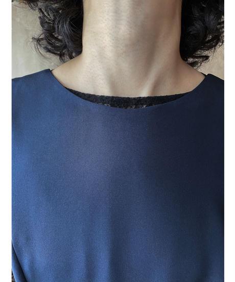 JAMES PURCELL ネイビードレス