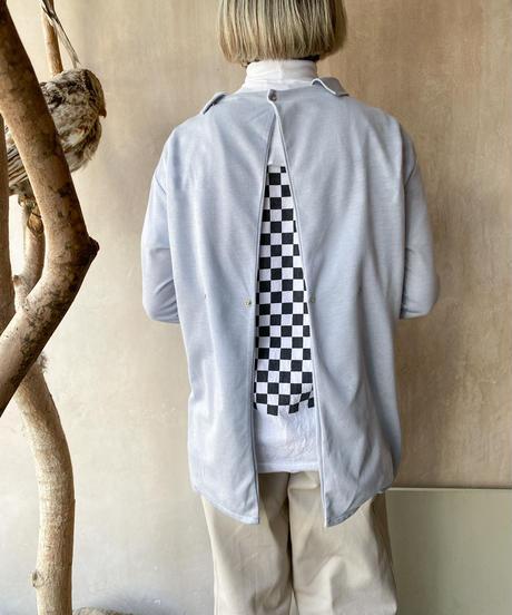 バックスナップポロシャツ