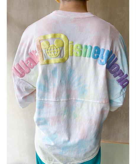 SPIRIT DisneyバックプリントタイダイTシャツ