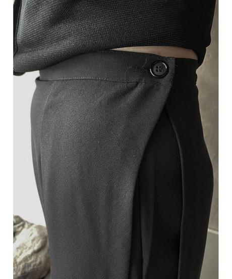 スカート重ねデザインパンツ