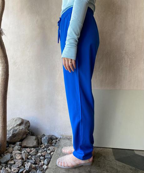 青イージーパンツ