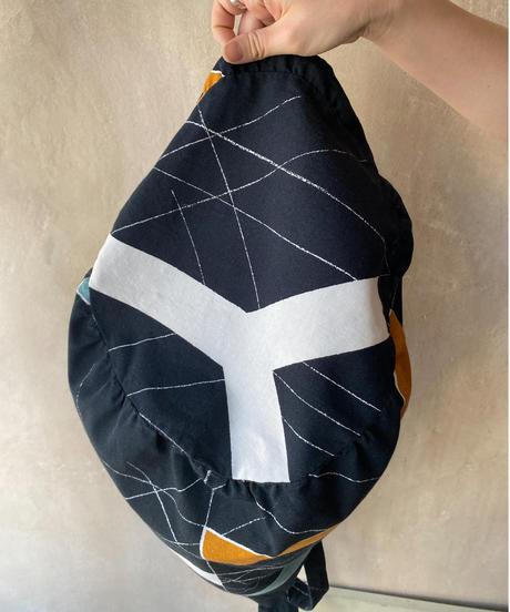 幾何学トートバッグ