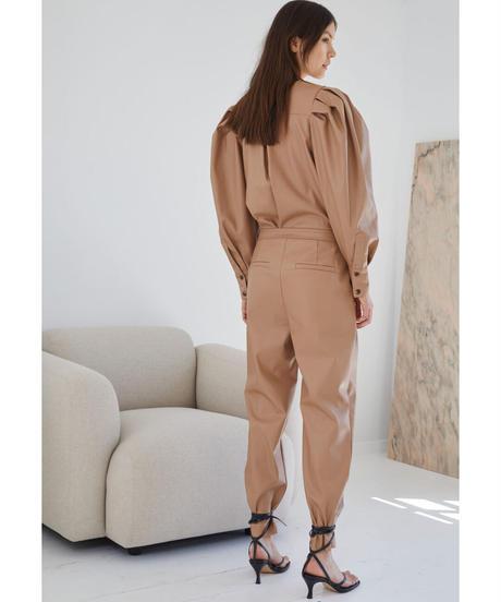 【DESIGNERS, REMIX】Marie Sleeve Blouse/Camel