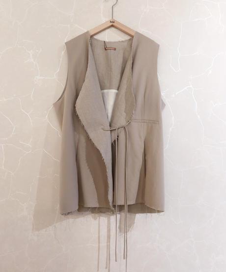 【NEHERA】Vest with rope belt