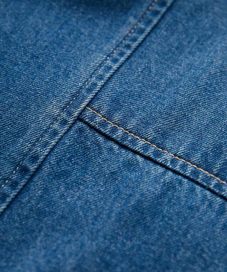 【KLOKE】 Denim wide pants