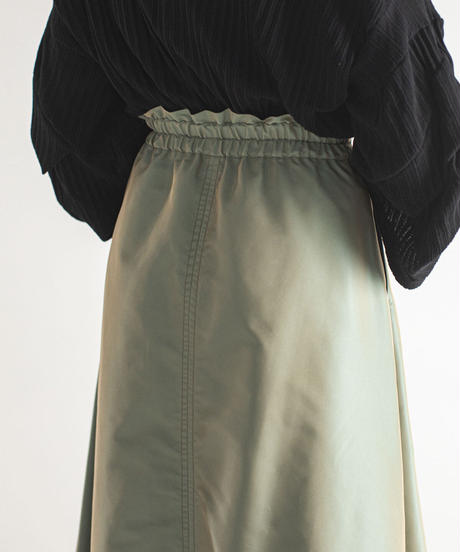 【Lallia Mu】Tamamushi-color skirt