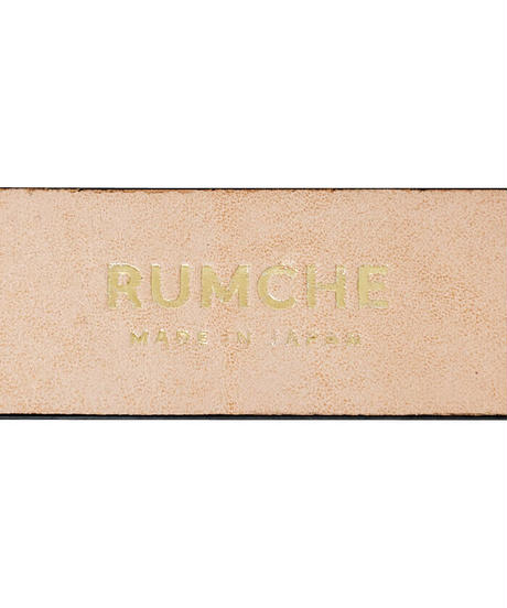 【RUMCHE】R Letter Leather Belt