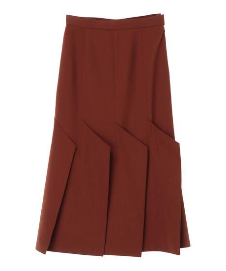 【AKIRA NAKA】Hexagonal skirt/brown