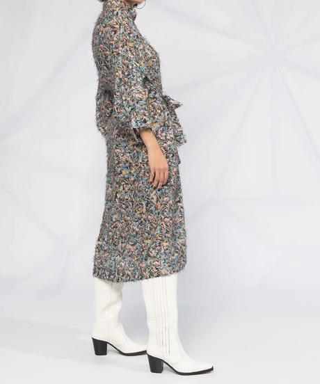 【HENRIK VIBSKOV】Floral shirts dress