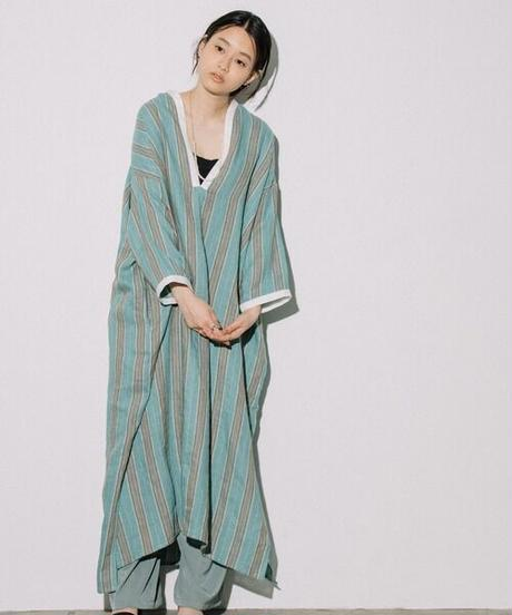 Stripe kaftan dress