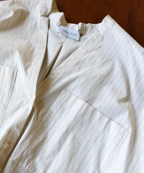 【Christian Wijnants】Over sized shirts/Stripe