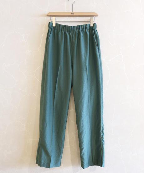 【08sircus】Silky lawn slit easy pants