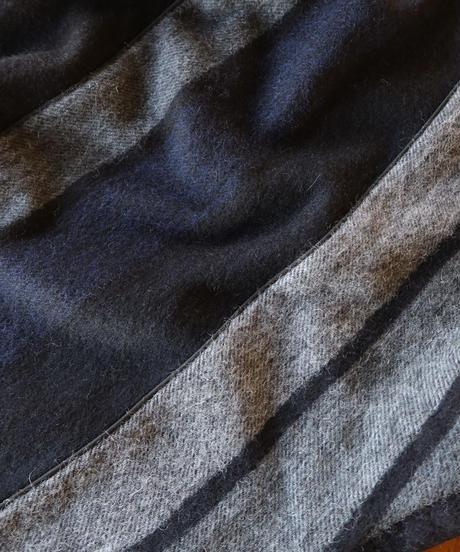 【 FFIXXED STUDIOS】Scarf Top/Gray×Navy