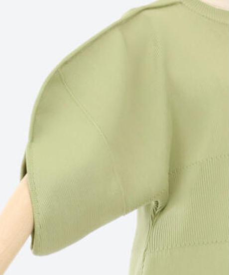 【AKIRA NAKA】Out seam knit/Green