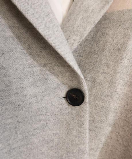 【 FFIXXED STUDIOS】Scarf overcoat/Check