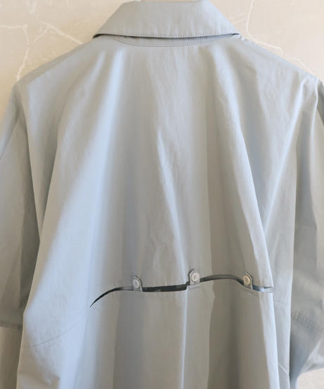 【NEHERA】Over sized shirts/Ice blue