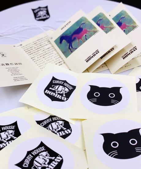 BOMBAYロゴ刺繍