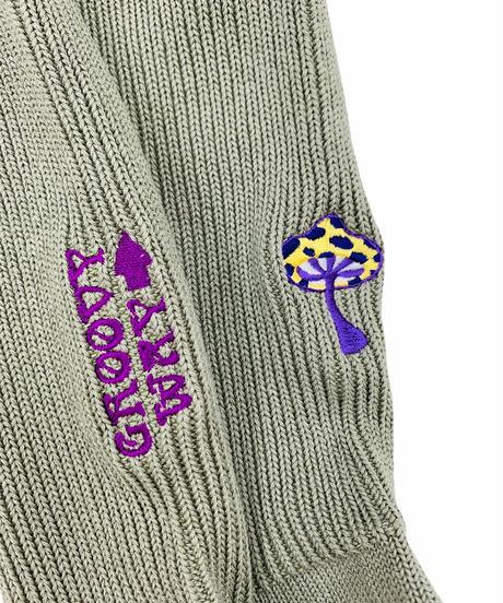 ヒッピー刺繍