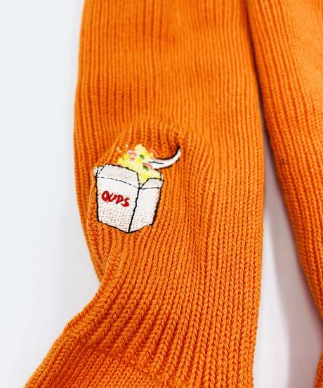 ランチボックス刺繍ソックス