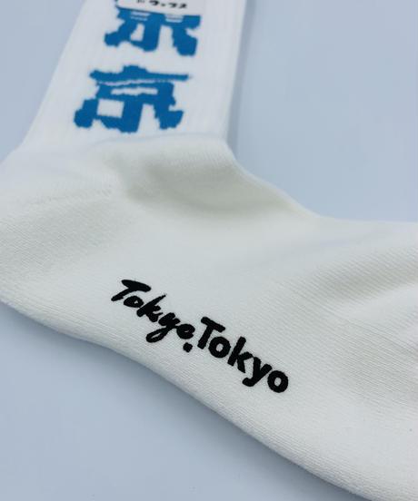 TOKYOTOKYO東京市松模様ソックス