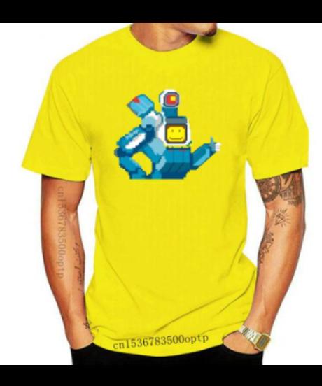 【備考欄要サイズ記載】APEX LEGENDS パスファインダー ピクセルデザイン フロントプリント ユニーク メンズ 半袖 Tシャツ 夏服 インナー 9カラー XXS~4XL