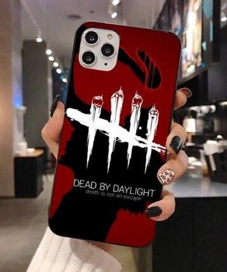 Dead by Daylight キラー スタイリッシュ デザイン プリント バックカバー iPhone12 12Pro 12ProMAX対応 DbD スマホ ソフトシェルケース