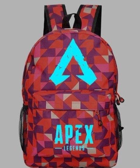 APEX LEGENDS ロゴデザイン カジュアル アクティブ リュックサック 大容量収納 バックパック