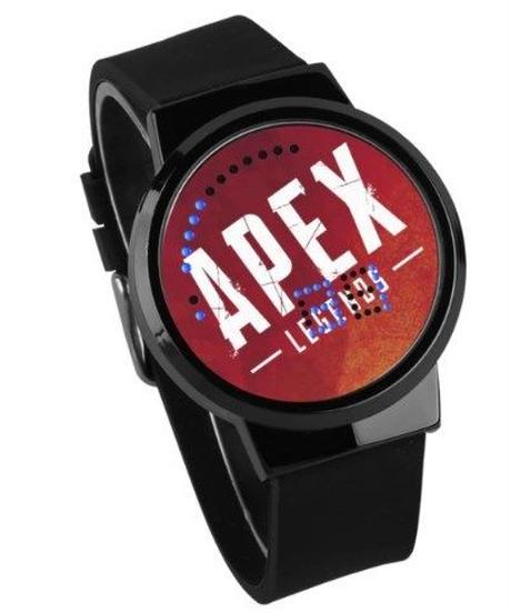 APEX LEGENDS ロゴ文字盤 ウォータープルーフ LED 腕時計 男女兼用 01
