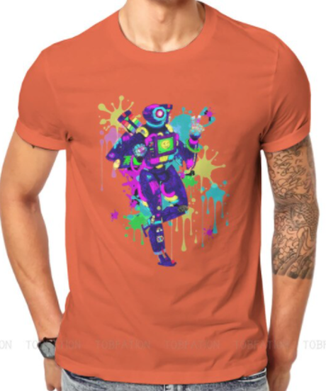 【備考欄要サイズ記載】APEX LEGENDS ネオンデザイン パスファインダー 半袖 メンズ Tシャツ S~6XL 選べる11カラー