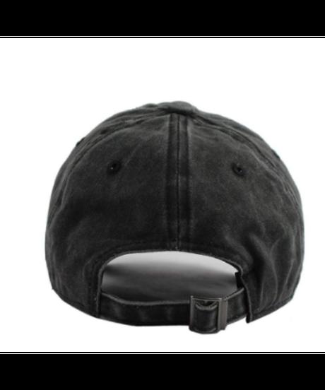 Dead by Daylight ロゴ フロントプリント 男女兼用 ベースボールキャップ カジュアル 野球帽  ユニセックス ブラックデニム ワンサイズ