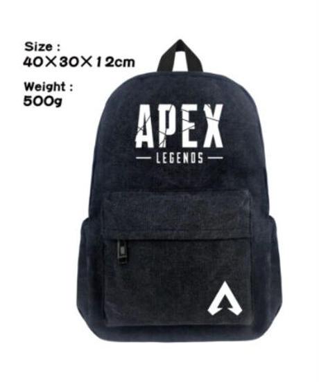 APEX LEGENDS シルエット ロゴプリント キャンバス素材 ナチュラル バックパック ユニセックス リュック 6柄