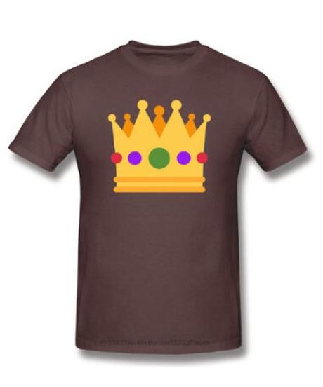 【備考欄サイズ要記載】Fall Guys フォールガイズ 優勝 王冠プリント 半袖 ユニセックス Tシャツ ルームウェア シンプル イラスト 選べる11カラー S~6XL